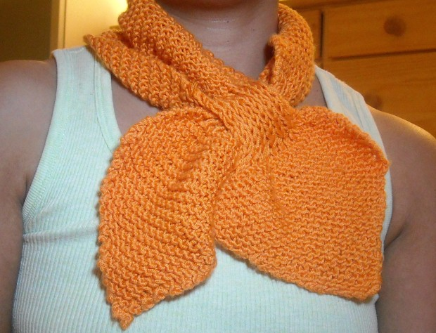 My very first knitting project!