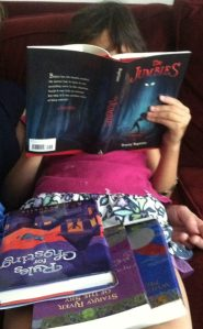 kid reading jumbies