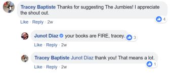 Junot response